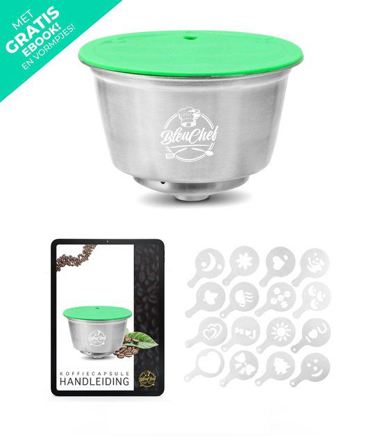 20-Delige Set Herbruikbare Capsules Dolce Gusto Apparaa