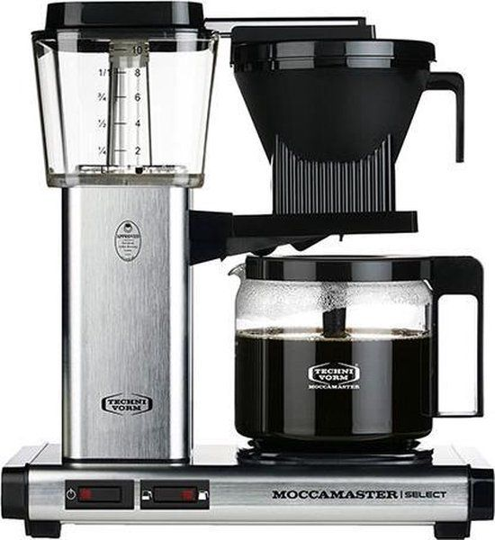 Filterkoffiemachine KBG Select, Brushed – Moccamaster