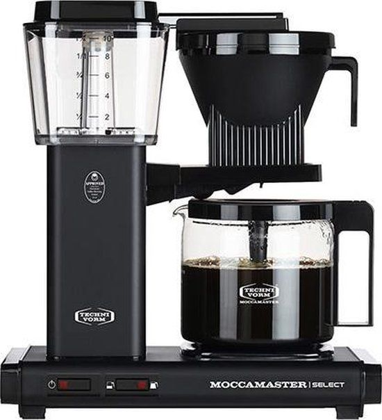 Filterkoffiemachine KBG Select, Matt Black – Moccamaster
