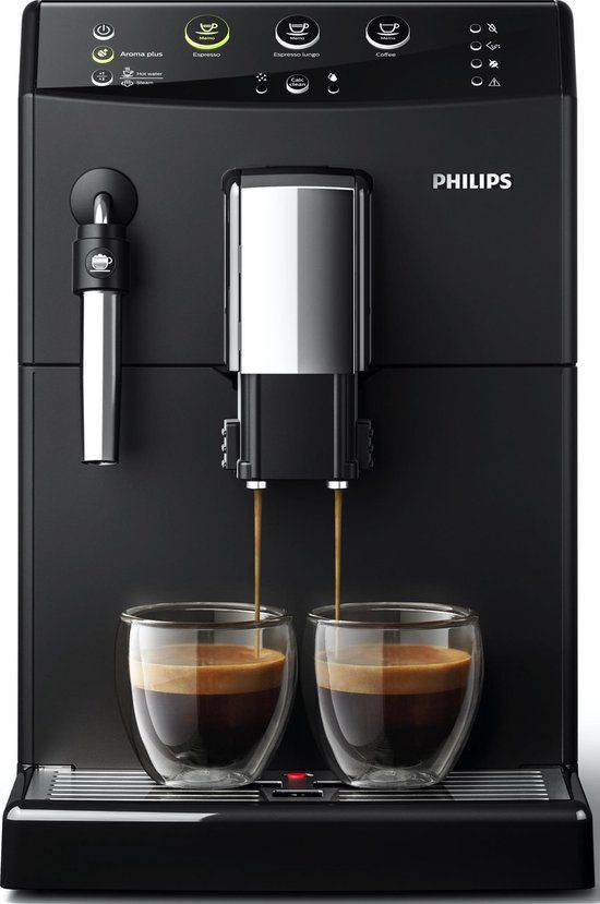 Philips 3000 Serie HD8827/01 - Espressomachine - Zwart