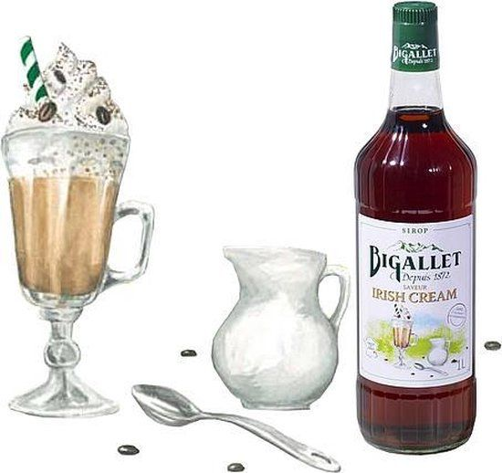 Bigallet Irish Cream koffiesiroop - 1000ml