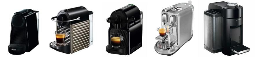 nespresso machines opsomming